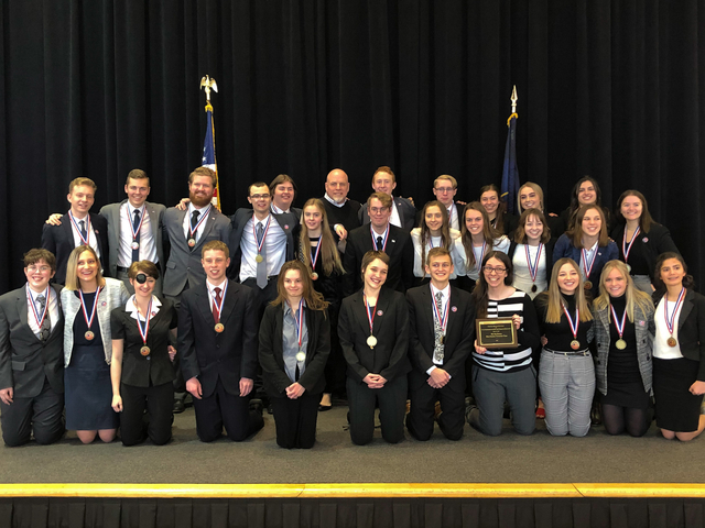 Sky View Green Canyon HS first place WTP state 2019 2